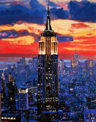 Empire state building by alistark91
