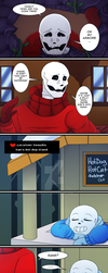 [UT COMIC] PAGE 2: Where's Frisk? by putt125