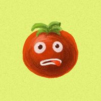 Funny tomato by azzza