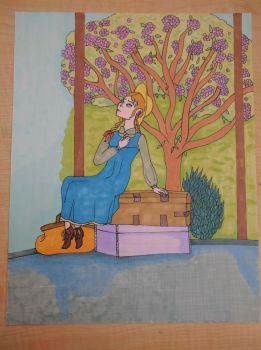 Anne of Green Gables in Design Marker by buffydoesbroadcast