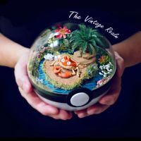 Poke Ball Terrarium - Krabby Vacation
