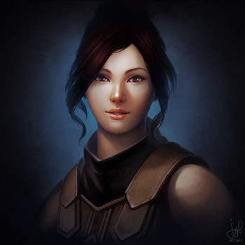 Guild Wars 2 Commission - Mo Zing Miki by jylgeartooth
