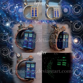 A Tardis In Space And Time by Lenne-sing