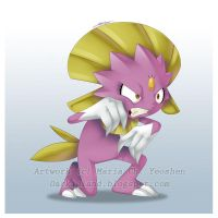 Commission - Shinny Weavile by yeomaria