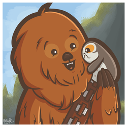 Chewy and Porgy by Kyokaiba
