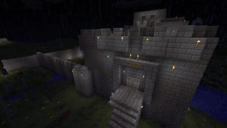 Helm's Deep 1 by ShadowpwnLord9999