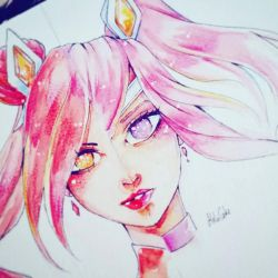 Burning Bright - Star Guardian by Melo-Cake