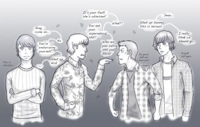 CSI is jealous of Supernatural by Nerrianah