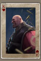 TF2 Poker heavy by biggreenpepper