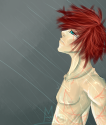 Let the Rain wash the Pain away by F-y-r-e-f-l-y