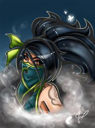 Akali fan art rework vesion by JamilSC11
