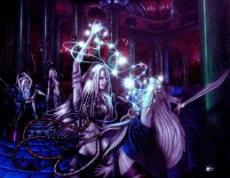 Lolth's Yathran - drow by PaleDrow