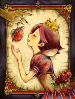 Fairy Tale Contest: Snow White by arielucia