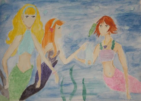Trouble in Paradise by Winxhelina