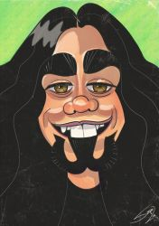 Caricature for old friend by LaserDatsun