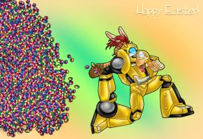 TF animated -Happy Easter 2011 by Taleea