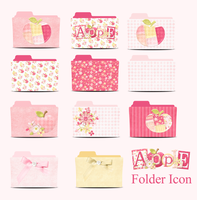 Apple Folder Icon PACK by akamichan9