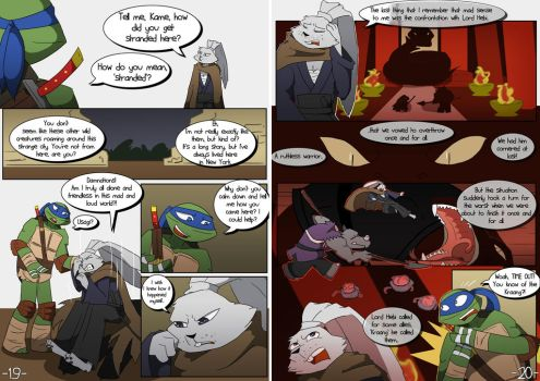 TMNT WM: Pages 19-20 by Samantai