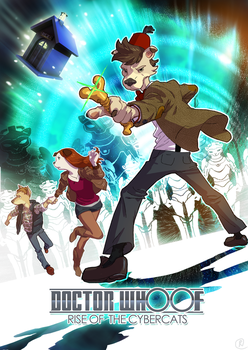 Doctor Whoof by gorgonzola3000