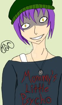 Mommy's Little Psycho - Colored by Demonflames