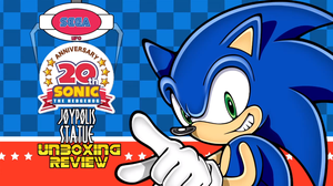 Sega Joypolis 20th Anniversary figure review by Cobra-Roll