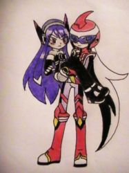 Re-draw: ChaudxCharlotte? XD 2 by Death--EXE