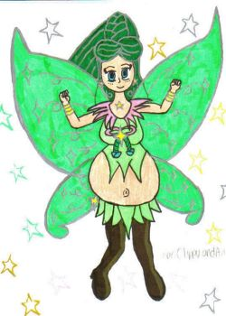 DBCDude01's Pregnant Fairy by Winter-Colorful