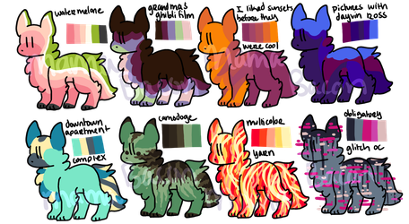 Dog Adopt Batch 2 (OPEN) by Mama-Bacon