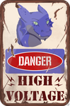 ~Commission: Danger! by UnicornCat