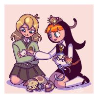 Claire and Phillis by Yamino