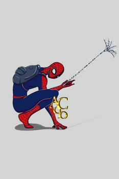 Time for lunch - Spiderman by AquiterCorona