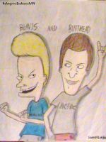 Beavis and Butthead by SB99stuff
