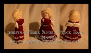 Christmas Angel Stock Pack by SafariSyd