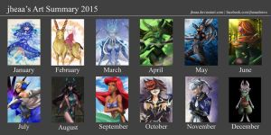 Art Summary 2015 by jheaa