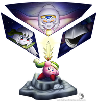 30 Day Kirby Challenge - 22 - The Sacred Sword by Celestia-Knight