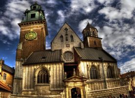 Krakow Cathedral by afron