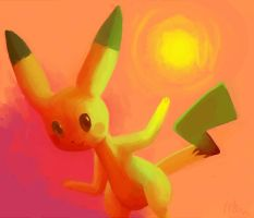 pikachu used electro ball by FinaMusica