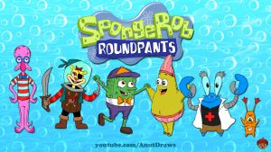 SpongeRob Roundpants by AnutDraws