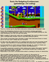 Pixel / Gameart 101 #08 Sonic and Widescreen by Cyangmou