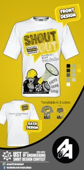 UST Faculty of Engineering Shirt 2011-2012 by aryan26