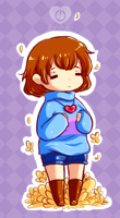Undertale - Frisk by himawari-tan