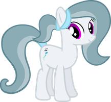 Silver Bell (My OC's Pony) by Hendro107
