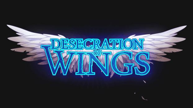 Desecration of Wings Title Art by lires