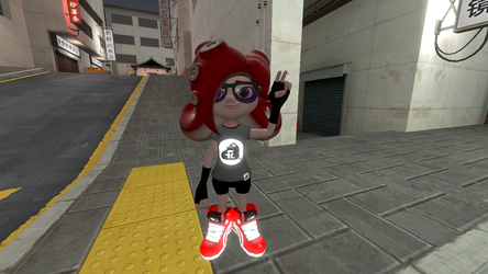 Jodelia the octoling by Animekid808