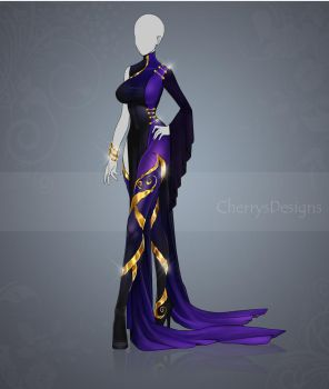(closed) Auction Adopt - Outfit 422 by CherrysDesigns