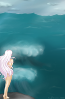 The Last Unicorn - Heart of the Ocean by Moontoon