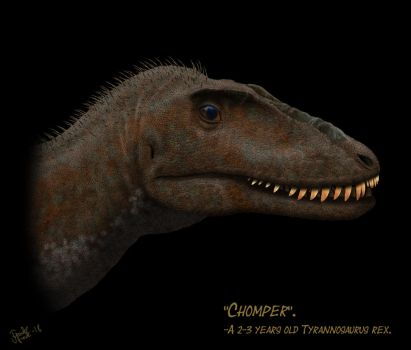 Chomper The T.rex. by Frank-Lode