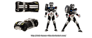 Kamen Rider DRIVE - Type WILD (NEW Form) by Kamen-Riders