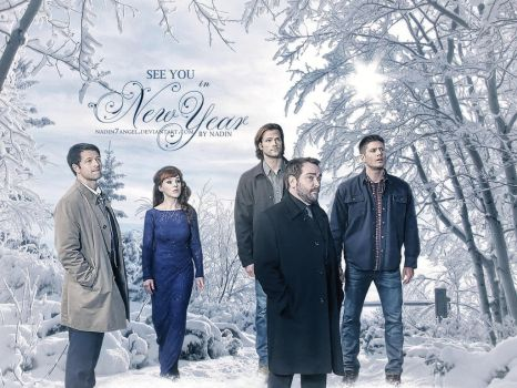 Happy Supernatural New 2017 Year! by Nadin7Angel