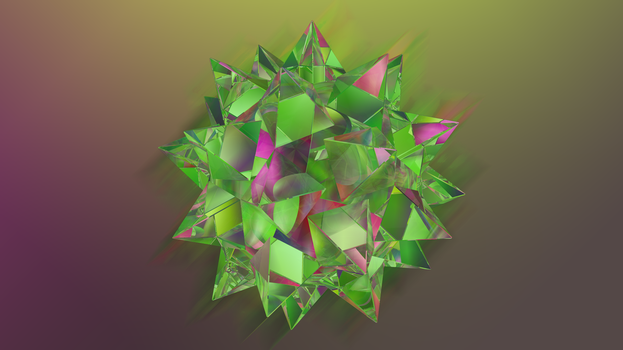 Abstract Refraction: Spiky Ball by MadLittleMods